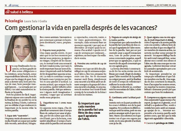 13 Laura Sala article tornada de vacances